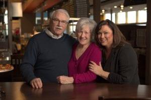 John, Margaret & Jacque Farrell, Founders